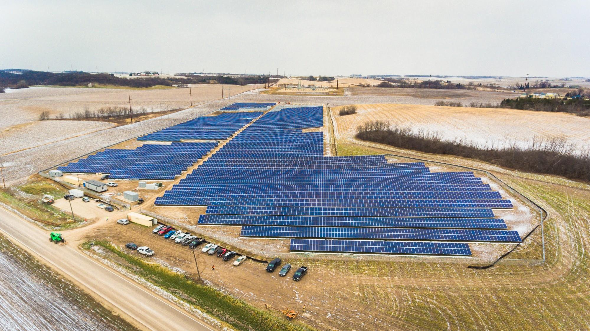 Minnesota businesses embrace community solar smart for Solar ranch