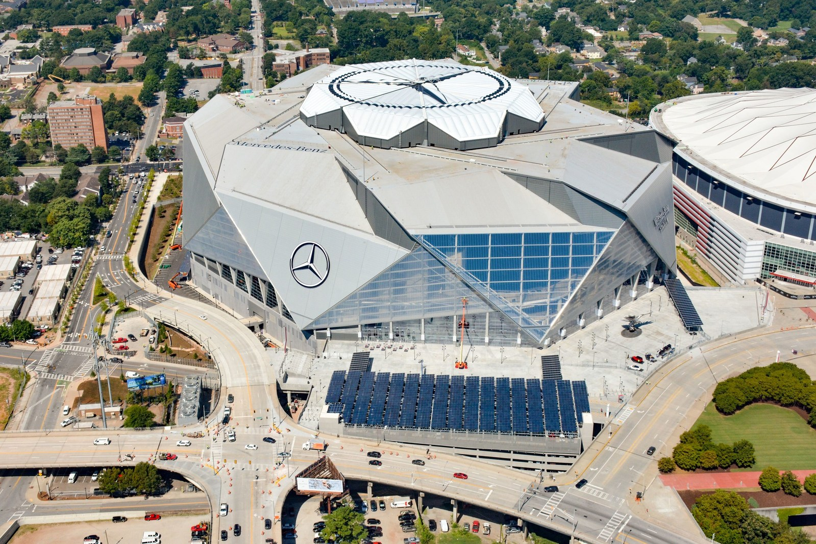 Mercedes Benz Stadium Adds 1 6 Smart Energy Decisions